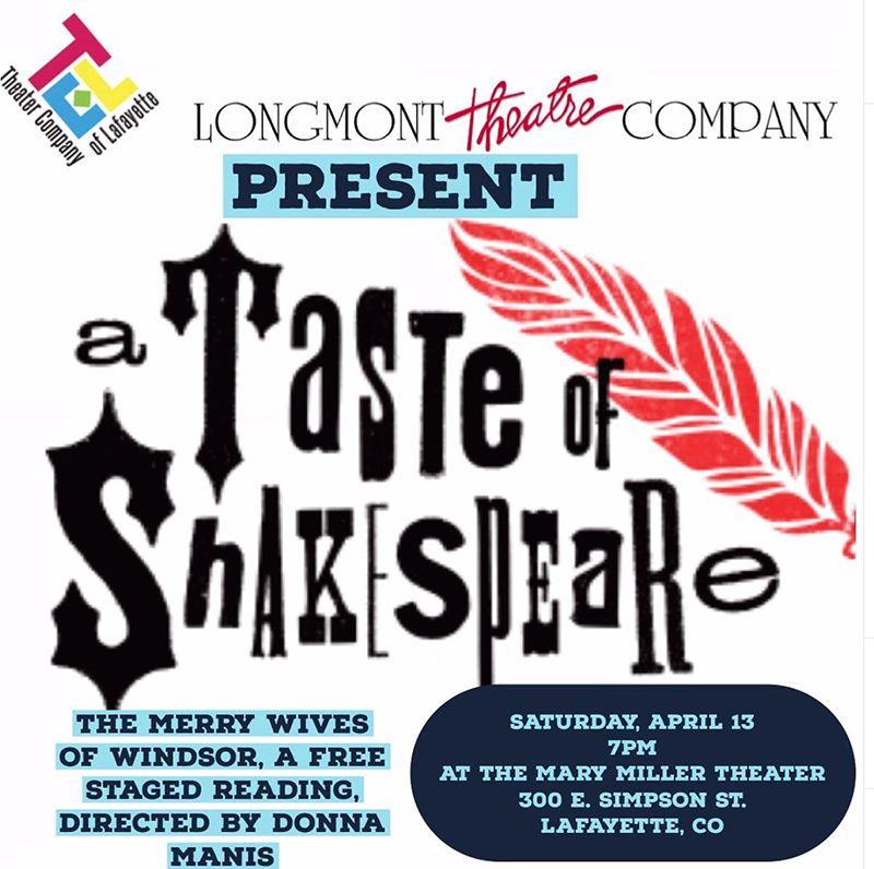 A Taste of Shakespeare